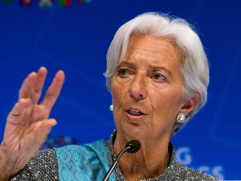 Christine Lagarde's resignation will be effective on 12 September: AP/Jose Luis Magana