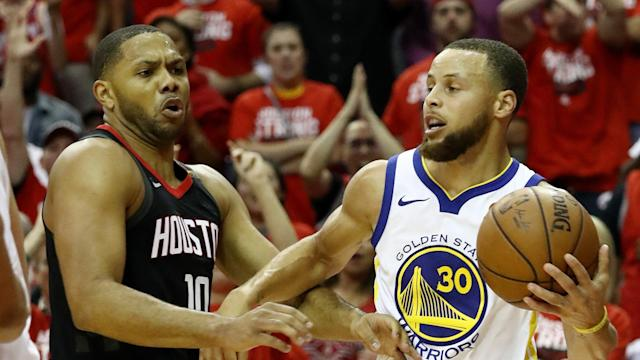 The Rockets are one win away from the NBA Finals as they took a 3-2 series lead with a 98-94 victory in Game 5.