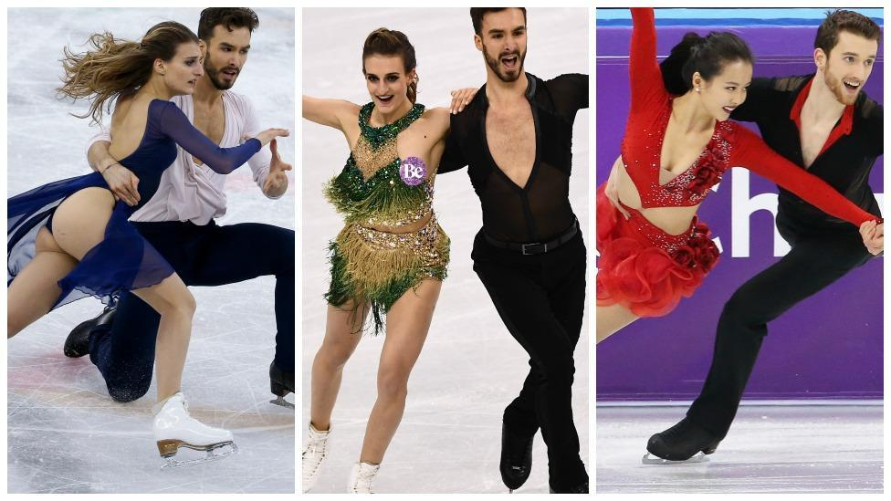 <p>This year's Olympics figure skating costumes are seriously risqué</p>