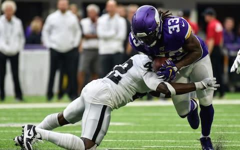 <span>Dalvin Cook starred again for the Vikings</span> <span>Credit: USA Today </span>
