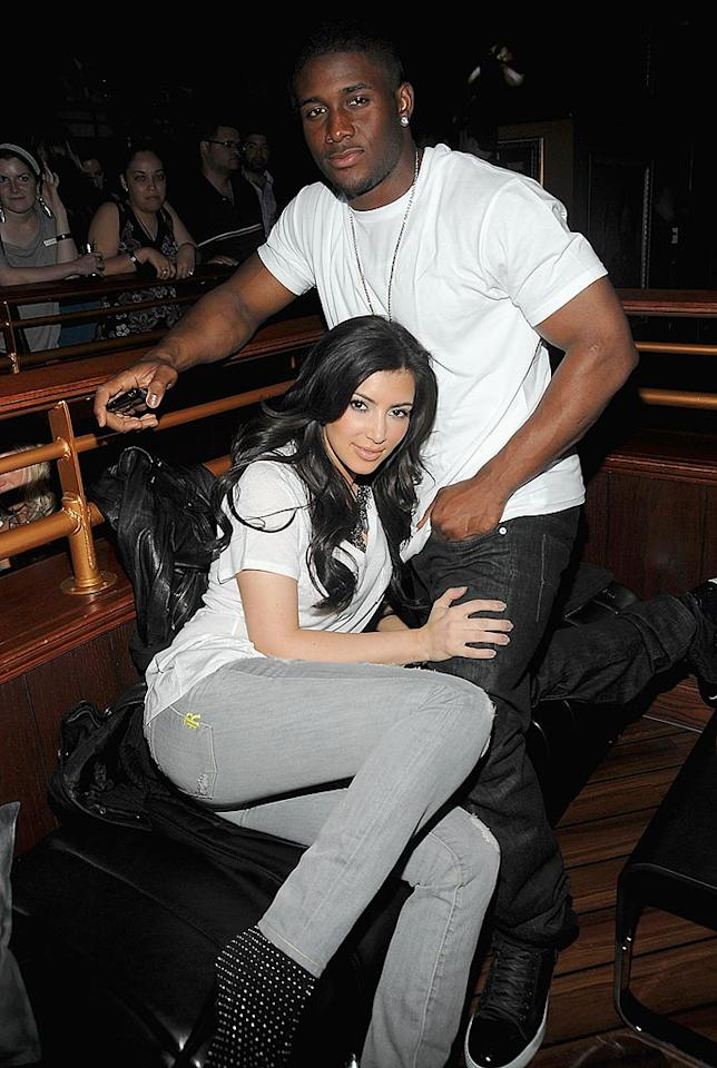 "<b>Date Athletes:</b> Sadly, Kim and Paris did not turn out to be BFFs forever. They reportedly didn't even speak to one another when they crossed paths in Las Vegas in August. But that's okay, because rising star Kim quickly found some other famous peeps to hang out with: hot athletes, including her longtime New Orleans Saints beau Reggie Bush. The couple called it quits in March 2010 after almost three years together. Kim later briefly dated another footballer, Dallas Cowboys wide receiver Miles Austin, and is now seeing New Jersey Nets basketball player Kris Humphries. Jamie McCarthy/<a href=""http://www.gettyimages.com/"" target=""new"">GettyImages.com</a> - June 24, 2009"