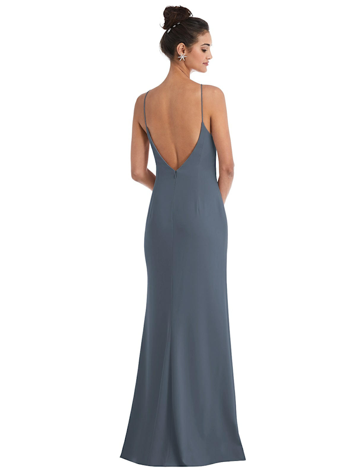"""<h3><strong>Dessy</strong></h3><br><strong>Price Range:</strong> $119 - $326<br><strong>Size Range:</strong> 00 - 30<br><br>OG bridal retailer and manufacturer Dessy has tons of options under its umbrella — including an exclusive collection with runway designers like <a href=""""https://dessy.com/bridesmaid-dresses/jenny-packham/"""" rel=""""nofollow noopener"""" target=""""_blank"""" data-ylk=""""slk:Jenny Packham"""" class=""""link rapid-noclick-resp"""">Jenny Packham</a>. The aforementioned red-carpet-friendly brand usually retails in the thousands and can be spotted on the likes of Kate Middleton and <a href=""""https://www.refinery29.com/en-us/2019/02/225216/marie-kondo-oscars-2019-red-carpet-why-shes-there"""" rel=""""nofollow noopener"""" target=""""_blank"""" data-ylk=""""slk:Marie Kondo"""" class=""""link rapid-noclick-resp"""">Marie Kondo</a>, but everything in Dessy's bridesmaid collection comes in under $326.<br><br><em>Shop <strong><a href=""""https://dessy.com/bridesmaid-dresses/"""" rel=""""nofollow noopener"""" target=""""_blank"""" data-ylk=""""slk:Dessy"""" class=""""link rapid-noclick-resp"""">Dessy</a></strong></em><br><br><strong>dessy</strong> Open-Back High-Neck Halter Trumpet Gown, $, available at <a href=""""https://go.skimresources.com/?id=30283X879131&url=https%3A%2F%2Fdessy.com%2Fdresses%2Fbridesmaid%2Fthread-bridesmaid-th047%2F%23.YJPlFpNKhH0"""" rel=""""nofollow noopener"""" target=""""_blank"""" data-ylk=""""slk:Dessy"""" class=""""link rapid-noclick-resp"""">Dessy</a>"""