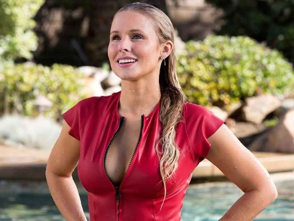 "Kristen Bell had a role in ""CHIPS."""