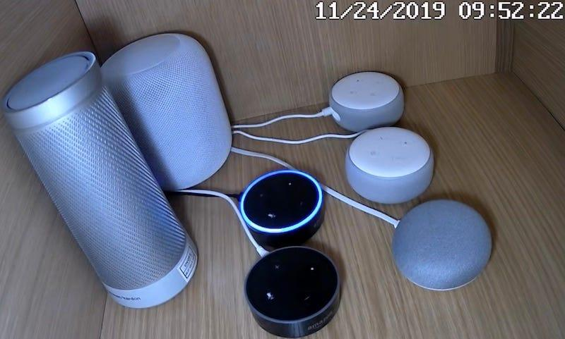 A Northeastern University study found that smart speakers accidentally activated as many as 19 times a day and stayed awake.