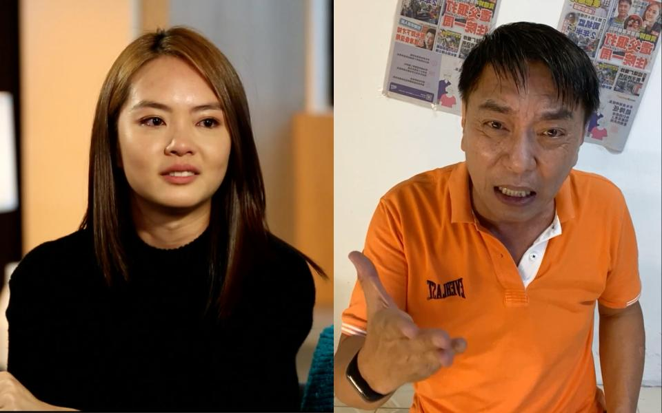 Actress Chantalle Ng said on the talk show Hear U Out that her father Huang Yiliang had hit her when she was 11 years old, landing her in hospital for a week.