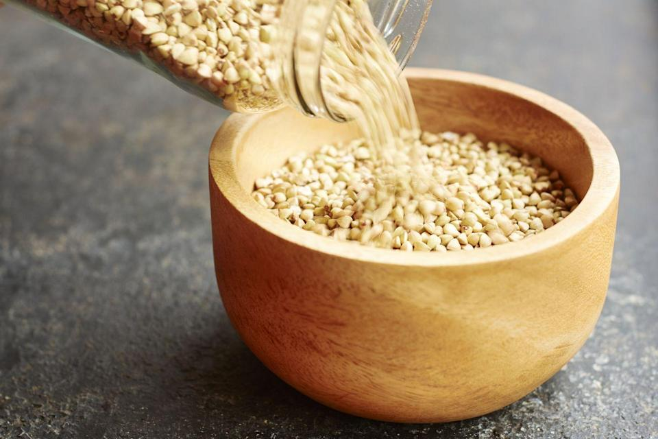 "<p>""These nutty-tasting seeds or 'hearts' from the hemp plant get props for their high protein content and omega-3s,"" writes Dr. Oz. Protein and omega-3 fatty acids are superstar ingredients when you're trying to lose weight. Try blending <a href=""https://www.prevention.com/food-nutrition/healthy-eating/g20436885/5-ways-to-eat-hemp-hearts/"" rel=""nofollow noopener"" target=""_blank"" data-ylk=""slk:hemp seeds"" class=""link rapid-noclick-resp"">hemp seeds</a> into a smoothie or dip.</p>"