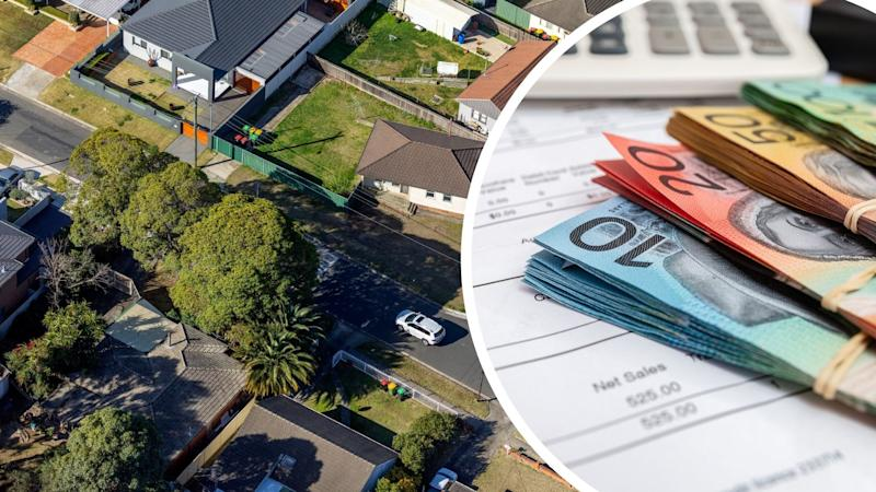Pictured: Australian homes, AUstralian cash. Images: Getty