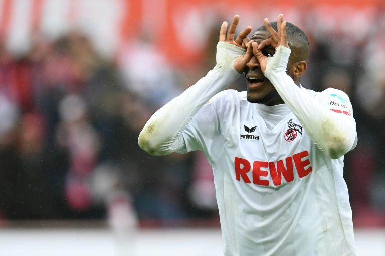 French striker Anthony Modeste is joining Tianjin Quanjian from Cologne in a deal that could be worth 35 million euros