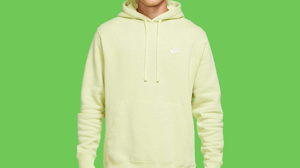 Enjoy the soft comfort of this fleece hoodie for as low as $24.