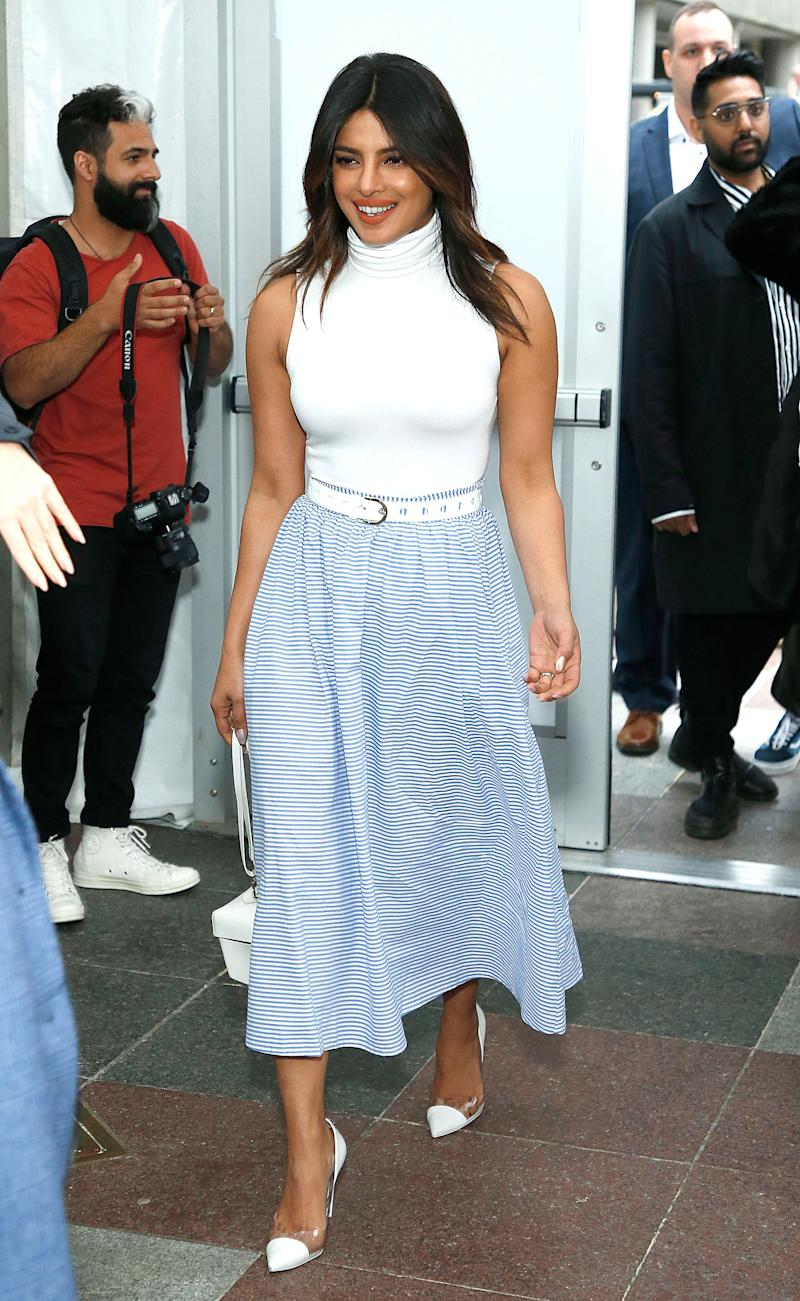 Priyanka Chopra attends Vineyard Vines for Target Launch at Brookfield Place in May 2019 in New York City. (Photo: John Lamparski/Getty Images)(Photo: Getty Images)