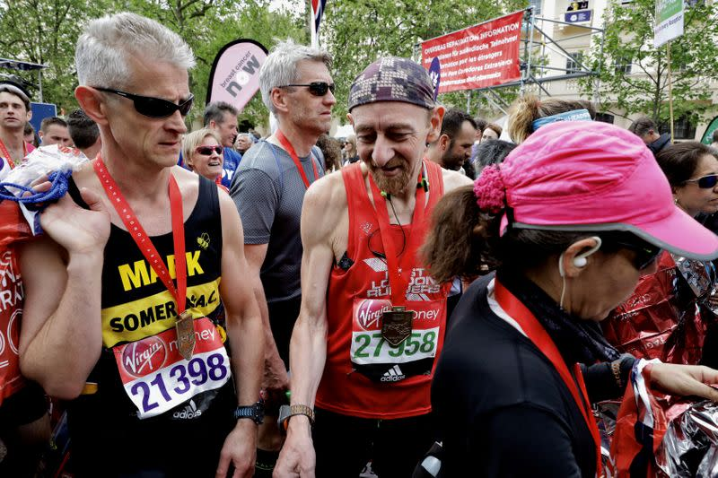 Too old? Too slow? No! Debut marathoners may add years to life