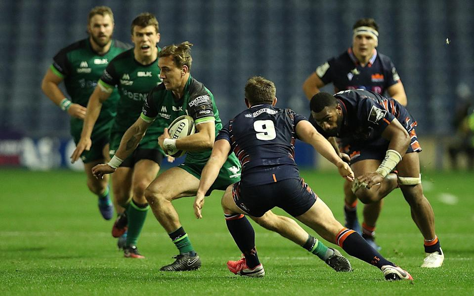 Edinburgh were brushed aside by a Connacht side brimming with energy and intensity - GETTY IMAGES
