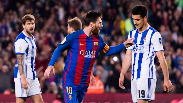 Luis Enrique's side beat Real Sociedad to stay in the race for La Liga, but they will need to defend better than this in their next two matches