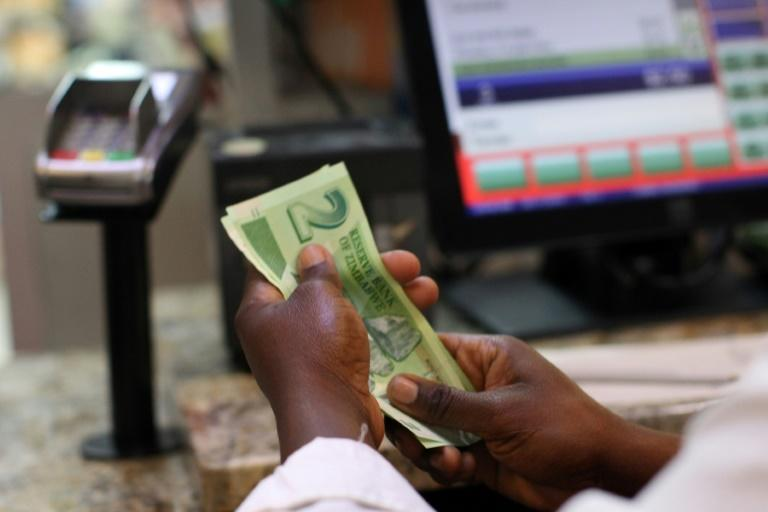 """Zimbabwe in 2016 began issuing """"bond notes"""", a parallel currency meant to be equivalent to the US dollar, when there was a shortage of cash circulating in the country"""