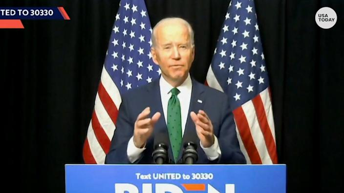 Biden reaches out to Bernie Sanders voters, 'I hear you. I know what we have to do.""