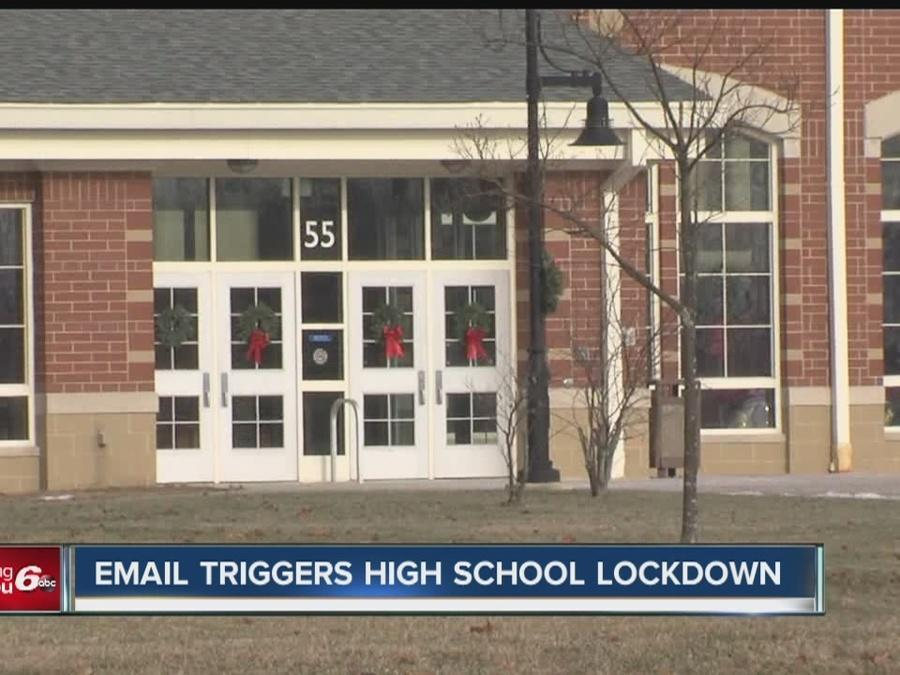 Emailed threat triggers lockdown at central Indiana High ...