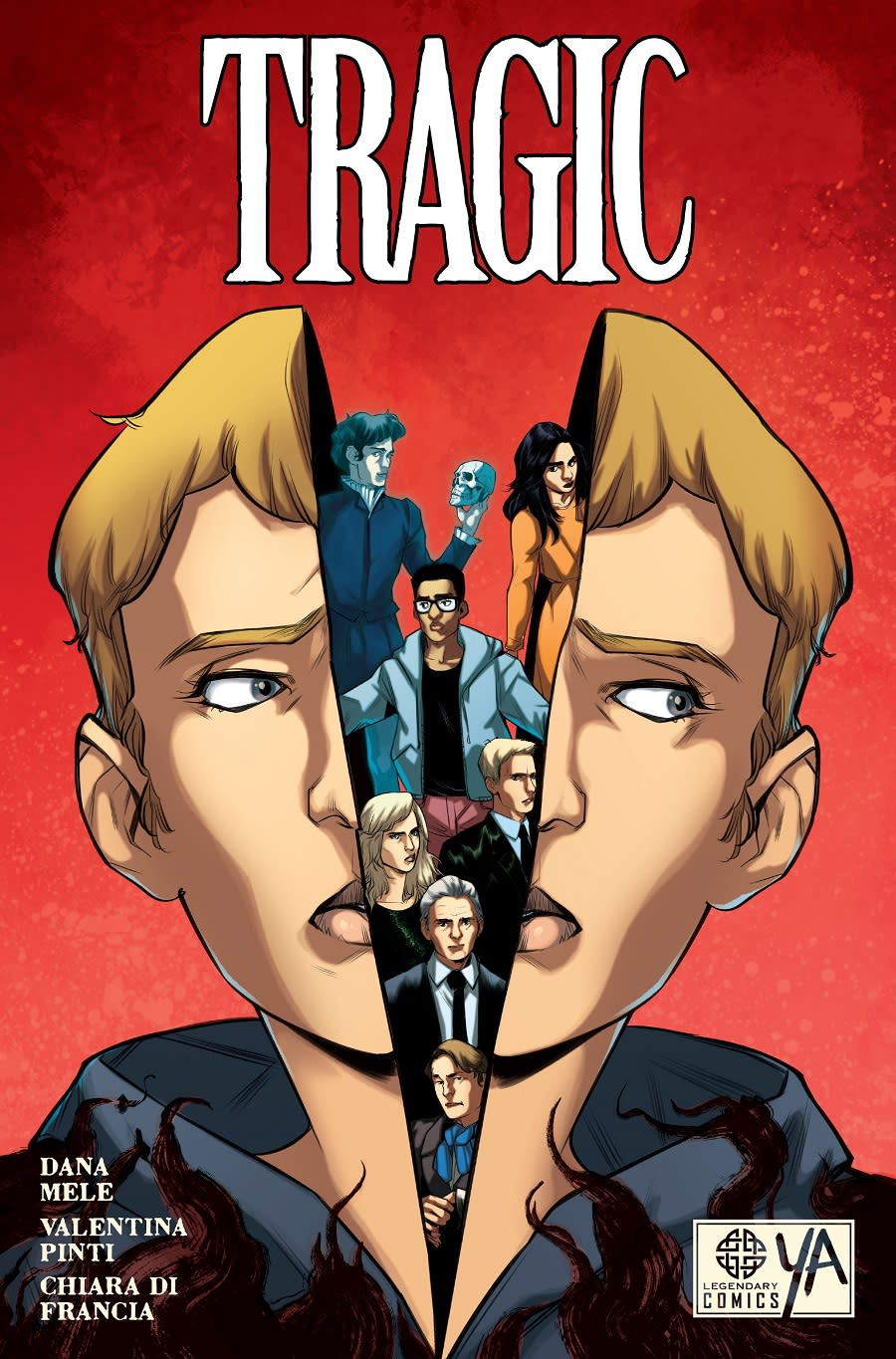 The cover art for Tragic, a new OGN.