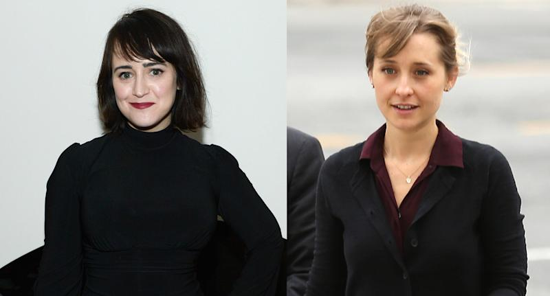 Mara Wilson and Allison Mack