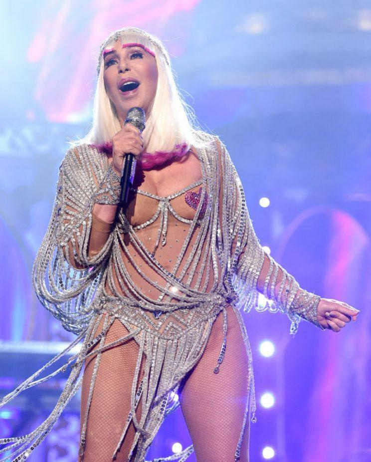 Singer Cher performs onstage during the 2017 Billboard Music Awards at T-Mobile Arena on May 21, 2017 in Las Vegas, Nevada.