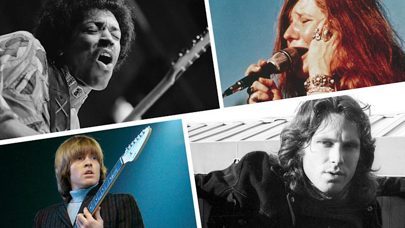 One of the most prominent examples of our culture's deification of fallen musicians is the concept of the 27 Club: a list of musicians, as well as actors, artists and other celebrities, who've all died at the age of 27.(Photos: Getty)