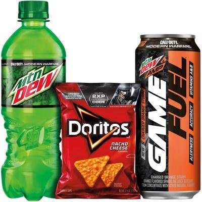 MTN DEW®, MTN DEW® AMP® GAME FUEL® And DORITOS® Join