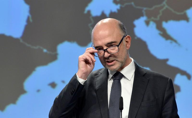 No EU budget action against Italy for now - Moscovici