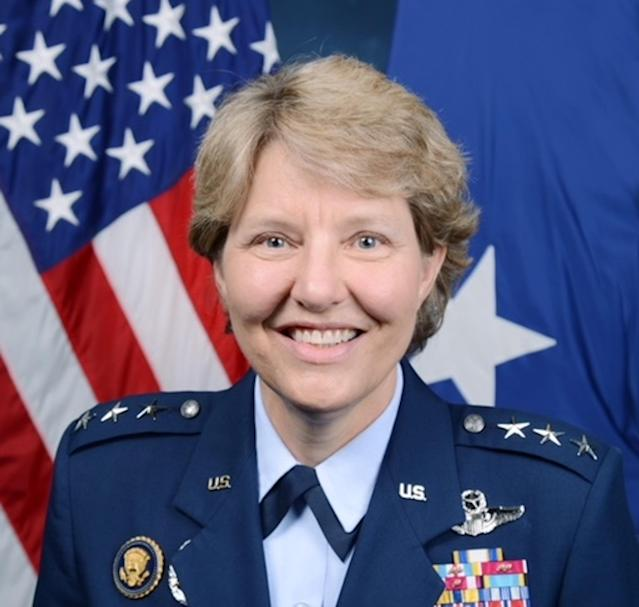 Michelle D. Johnson was superintendent of the United States Air Force Academy in 2016. (Special to Yahoo Sports)