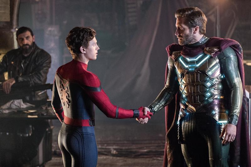 Here's the hidden Mysterio sighting in Spider-Man: Far From Homeyou probably missed