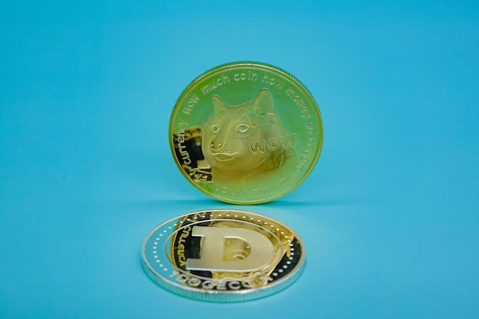 Dogecoin. (Foto: Getty Images)