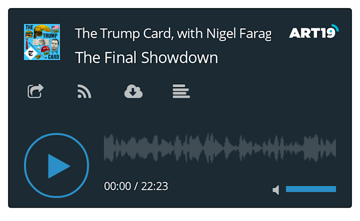 The Trump Card: The Final Showdown (podcast)