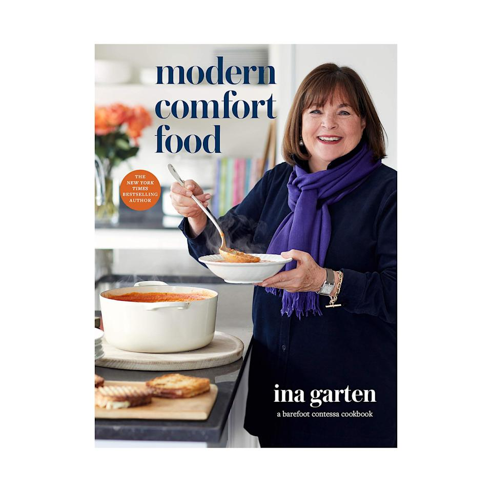 """With 85 recipes that promise to satiate the most random of cravings, this cook book is a worthy addition to her kitchen library. It came out early October and is already a New York Times bestseller. $21, Amazon. <a href=""""https://www.amazon.com/Modern-Comfort-Food-Barefoot-Contessa/dp/0804187061/ref=zg_bsnr_books_2?"""" rel=""""nofollow noopener"""" target=""""_blank"""" data-ylk=""""slk:Get it now!"""" class=""""link rapid-noclick-resp"""">Get it now!</a>"""