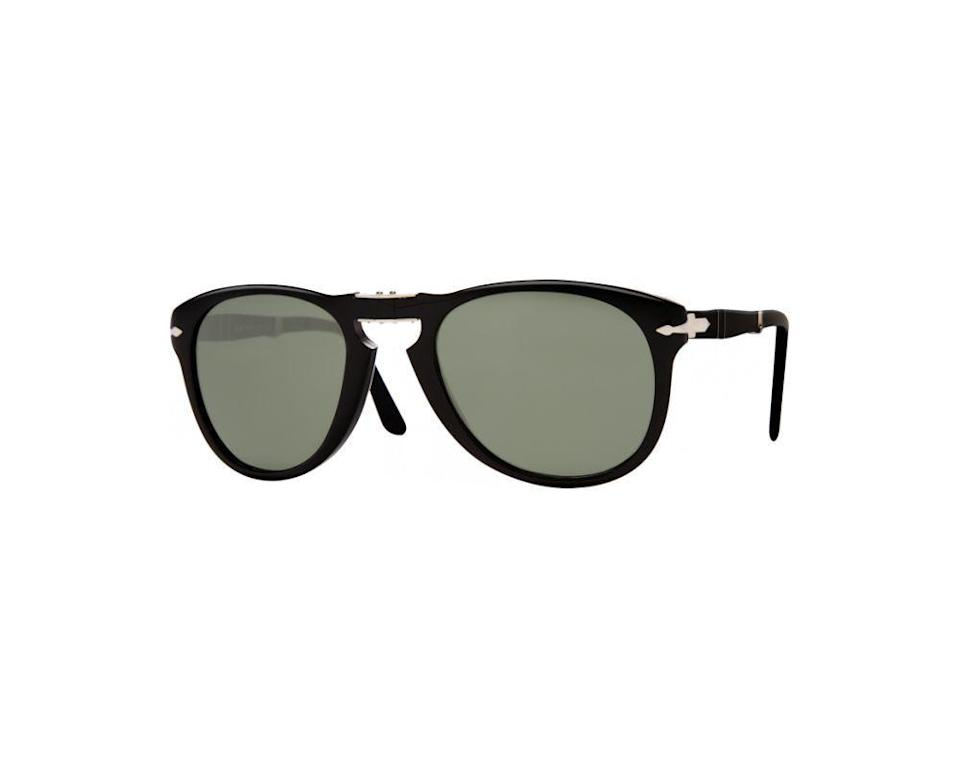 """<p><strong>Persol</strong></p><p>amazon.com</p><p><a href=""""https://www.amazon.com/dp/B001E1M7I2?tag=syn-yahoo-20&ascsubtag=%5Bartid%7C2139.g.36477804%5Bsrc%7Cyahoo-us"""" rel=""""nofollow noopener"""" target=""""_blank"""" data-ylk=""""slk:BUY IT HERE"""" class=""""link rapid-noclick-resp"""">BUY IT HERE</a></p><p><del>$360.00</del><strong><br>$178.09</strong></p><p>In the '60s, Persol introduced the 714's, a foldable version <a href=""""https://amzn.to/2Rq6u01"""" rel=""""nofollow noopener"""" target=""""_blank"""" data-ylk=""""slk:of its classic 649 model"""" class=""""link rapid-noclick-resp"""">of its classic 649 model</a>, and they're still just as stylish for the modern man today. </p>"""
