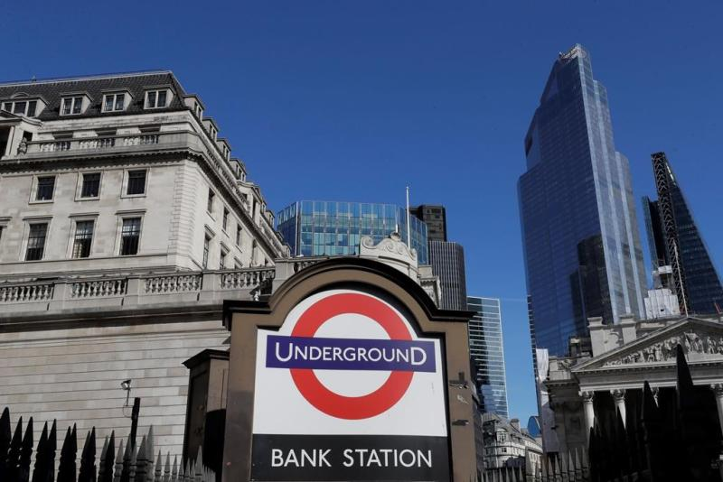 UK economy slump not as bad as feared but still a record