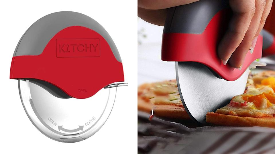 The pizza cutter wheel of your dreams is finally on sale in red.