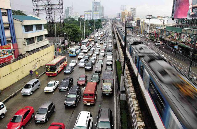 Traffic on EDSA