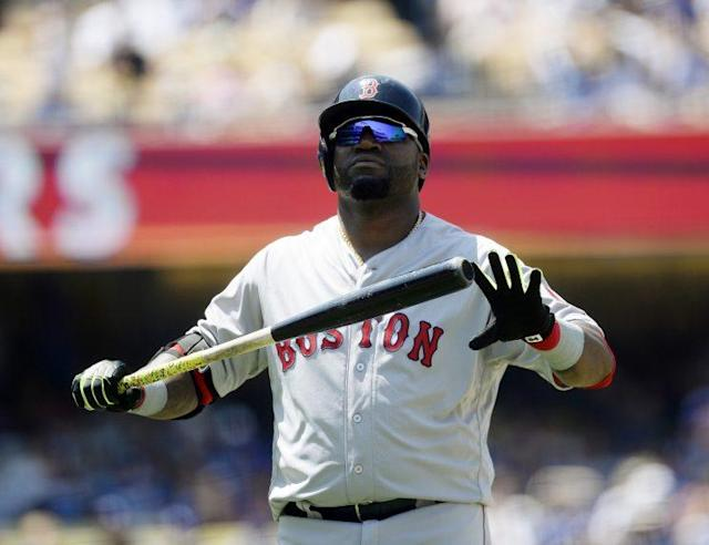 "The Red Sox canceled Tuesday's <a class=""link rapid-noclick-resp"" href=""/mlb/players/5909/"" data-ylk=""slk:David Ortiz"">David Ortiz</a> bobblehead giveaway. (Getty Images/Kevork Djansezian)"