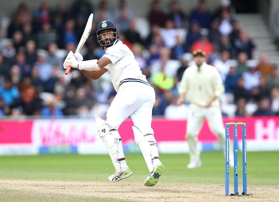 Cheteshwar Pujara returned to form with 91 not out (Nigel French/PA) (PA Wire)