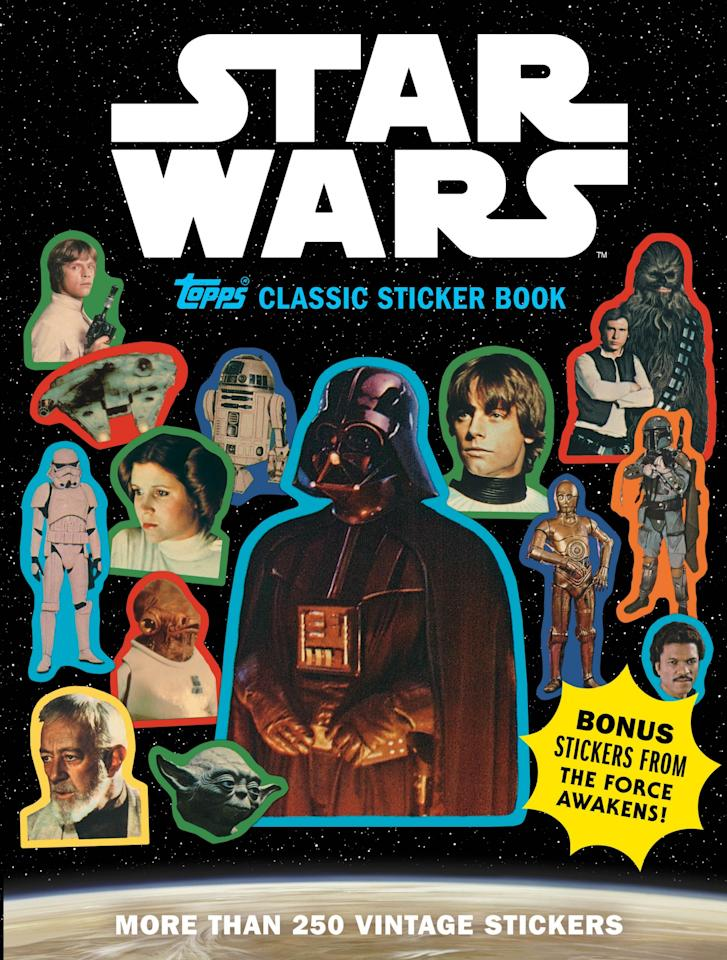 <p>Topps' collection of reproduction stickers spans the original trilogy and includes all the seminal characters. (Credit: The Topps Company and Lucasfilm Ltd (C) Abrams Books) </p>