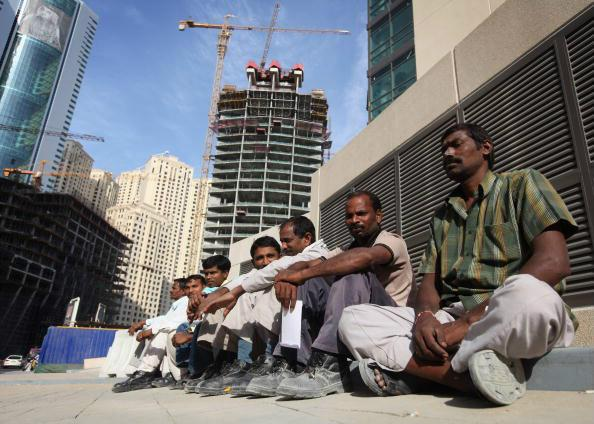 Workers in UAE
