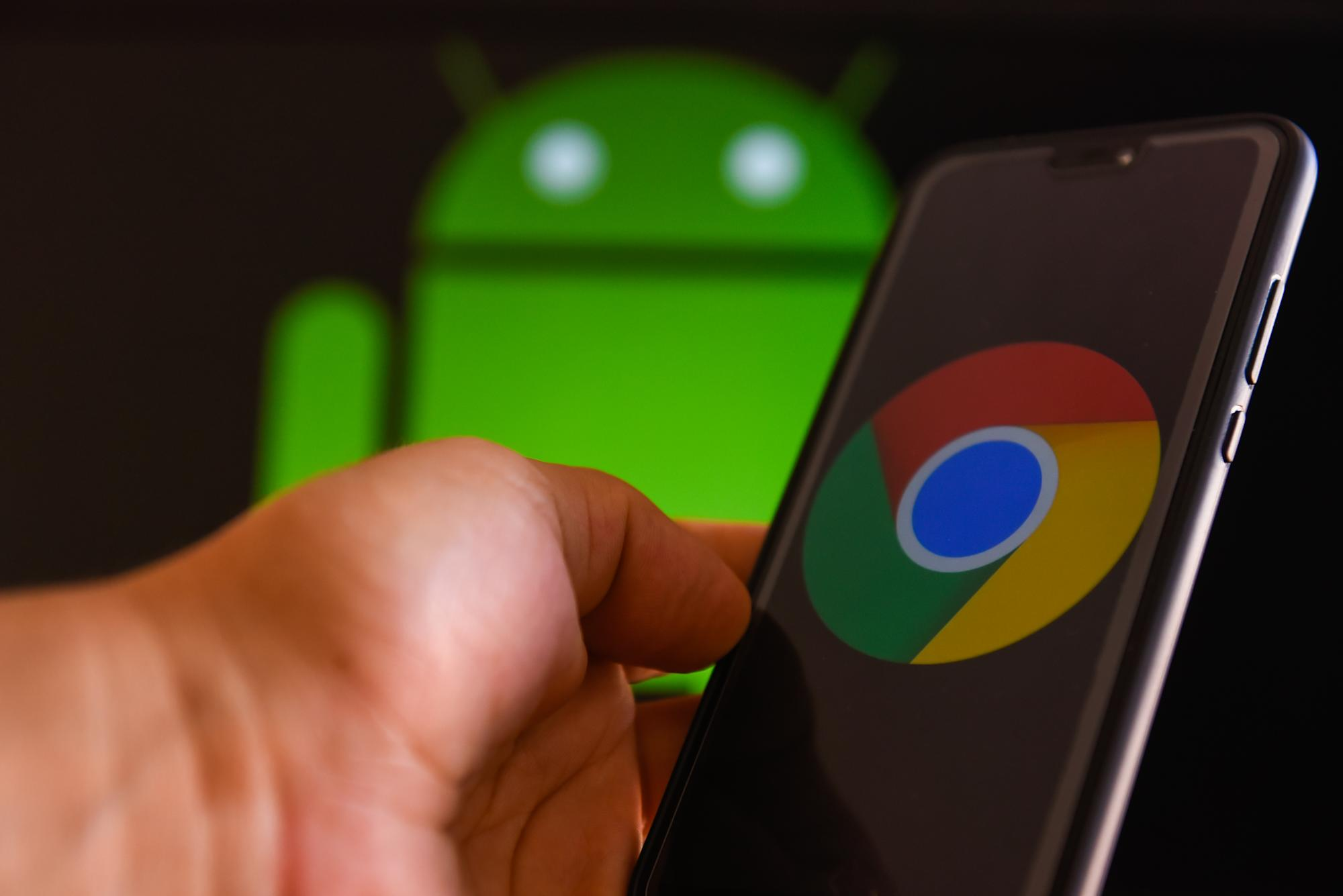 You would now be able to review pages in Chrome for Android