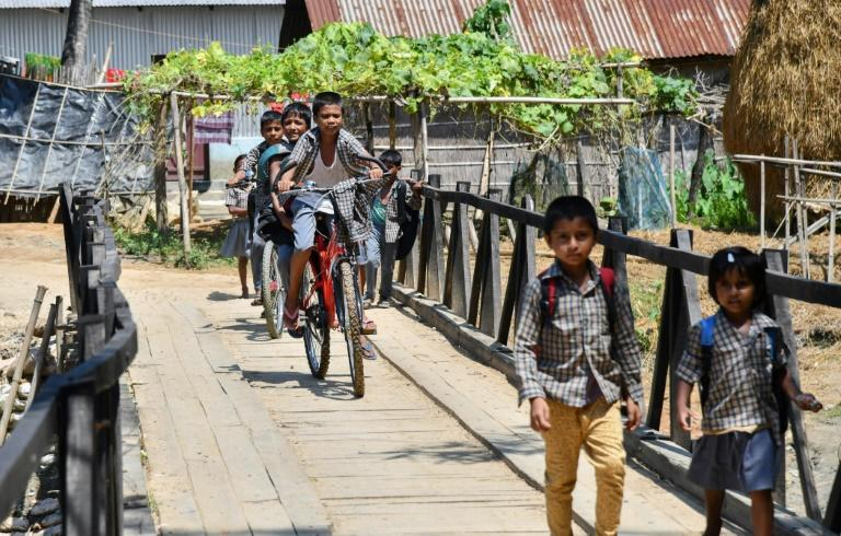 India's Assam state has seen sporadic violence and is a hotbed of inter-religious and ethnic tensions (AFP Photo/Biju BORO)