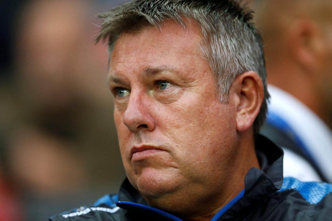 Soccer Football - Milton Keynes Dons vs Leicester City - Pre Season Friendly - Milton Keynes, Britain - July 28, 2017   Leicester City manager Craig Shakespeare   Action Images via Reuters/Andrew Boyers