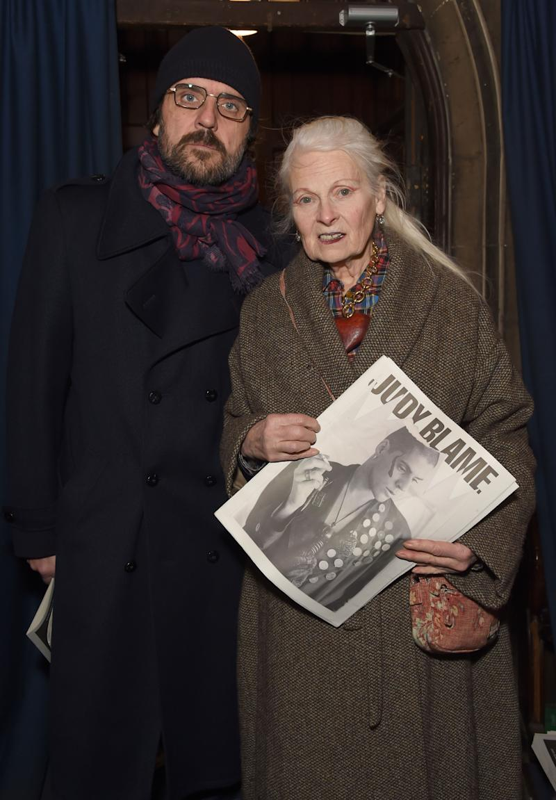 681256ee825 Vivienne Westwood Argues for Julian Assange at London Event