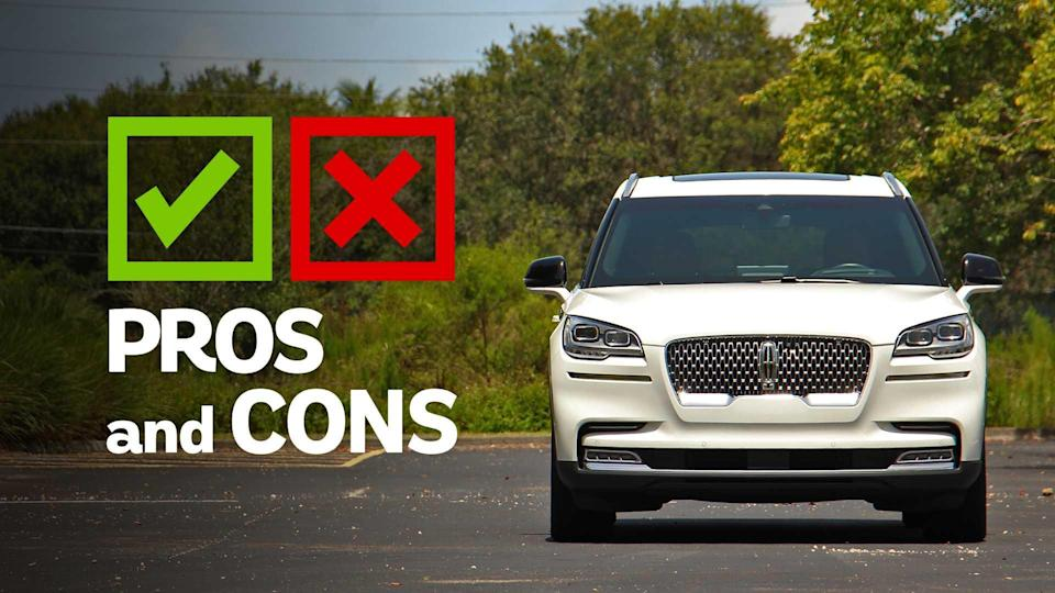 "<p>For a brand that's been mostly rudderless for several decades, the <a href=""https://www.motor1.com/lincoln/aviator/?utm_campaign=yahoo-feed"" rel=""nofollow noopener"" target=""_blank"" data-ylk=""slk:Lincoln Aviator"" class=""link rapid-noclick-resp"">Lincoln Aviator</a> – and in part, the larger <a href=""https://www.motor1.com/lincoln/navigator/?utm_campaign=yahoo-feed"" rel=""nofollow noopener"" target=""_blank"" data-ylk=""slk:Navigator"" class=""link rapid-noclick-resp"">Navigator</a> – both mark a return to form for Ford's luxury brand. The latest <a href=""https://www.motor1.com/lincoln/?utm_campaign=yahoo-feed"" rel=""nofollow noopener"" target=""_blank"" data-ylk=""slk:Lincoln"" class=""link rapid-noclick-resp"">Lincoln</a> <a href=""https://www.motor1.com/body-styles/suv-crossover/?utm_campaign=yahoo-feed"" rel=""nofollow noopener"" target=""_blank"" data-ylk=""slk:SUVs"" class=""link rapid-noclick-resp"">SUVs</a> are handsome, nice to drive, and loaded with safety and technology. The Aviator, with segment-best style and an addictive powertrain, makes a strong case in a class ripe with good alternatives from established brands like <a href=""https://www.motor1.com/audi/?utm_campaign=yahoo-feed"" rel=""nofollow noopener"" target=""_blank"" data-ylk=""slk:Audi"" class=""link rapid-noclick-resp"">Audi</a>, <a href=""https://www.motor1.com/bmw/?utm_campaign=yahoo-feed"" rel=""nofollow noopener"" target=""_blank"" data-ylk=""slk:BMW"" class=""link rapid-noclick-resp"">BMW</a>, and <a href=""https://www.motor1.com/mercedes-benz/?utm_campaign=yahoo-feed"" rel=""nofollow noopener"" target=""_blank"" data-ylk=""slk:Mercedes-Benz"" class=""link rapid-noclick-resp"">Mercedes-Benz</a>.</p> <p>But good looks and power only get you so far – the Aviator still has some unfortunate holdovers from the old Lincoln. Some of the buttons and dials feel cheap, there's too much hard plastic in the cabin, and at $75,660 as tested, the Aviator is close in price to other luxurious three-rows that are – let's face it – much better overall.</p> <ul><li><a href=""https://www.motor1.com/reviews/392242/2020-lincoln-aviator-grand-touring-black-label-review/?utm_campaign=yahoo-feed"" rel=""nofollow noopener"" target=""_blank"" data-ylk=""slk:2020 Lincoln Aviator Grand Touring Black Label Review: Take To The Sky"" class=""link rapid-noclick-resp"">2020 Lincoln Aviator Grand Touring Black Label Review: Take To The Sky</a></li><br><li><a href=""https://www.motor1.com/reviews/365965/2020-lincoln-aviator-first-drive/?utm_campaign=yahoo-feed"" rel=""nofollow noopener"" target=""_blank"" data-ylk=""slk:2020 Lincoln Aviator First Drive: Sitting In First Class"" class=""link rapid-noclick-resp"">2020 Lincoln Aviator First Drive: Sitting In First Class</a></li><br></ul> <h3>Competitors</h3> <ul> <li><strong><a href=""https://www.motor1.com/reviews/401744/2020-audi-q7-first-drive-review-smarter-and-sharper/?utm_campaign=yahoo-feed"" rel=""nofollow noopener"" target=""_blank"" data-ylk=""slk:Audi Q7"" class=""link rapid-noclick-resp"">Audi Q7</a></strong></li> <li><strong><a href=""https://www.motor1.com/reviews/346166/2019-acura-mdx-a-spec-pros-cons/?utm_campaign=yahoo-feed"" rel=""nofollow noopener"" target=""_blank"" data-ylk=""slk:Acura MDX"" class=""link rapid-noclick-resp"">Acura MDX</a></strong></li> <li><strong><a href=""https://www.motor1.com/reviews/424338/2020-bmw-x5-m-competition-suv-review/?utm_campaign=yahoo-feed"" rel=""nofollow noopener"" target=""_blank"" data-ylk=""slk:BMW X5"" class=""link rapid-noclick-resp"">BMW X5</a></strong></li> <li><strong><a href=""https://www.motor1.com/reviews/260967/2018-cadillac-ct6-why-buy/?utm_campaign=yahoo-feed"" rel=""nofollow noopener"" target=""_blank"" data-ylk=""slk:Cadillac XT6"" class=""link rapid-noclick-resp"">Cadillac XT6</a></strong></li> <li><strong><a href=""https://www.motor1.com/reviews/198318/2017-land-rover-range-rover-sport-svr-why-buy/?utm_campaign=yahoo-feed"" rel=""nofollow noopener"" target=""_blank"" data-ylk=""slk:Land Rover Range Rover Sport"" class=""link rapid-noclick-resp"">Land Rover Range Rover Sport</a></strong></li> <li><strong><a href=""https://www.motor1.com/reviews/276942/2020-mercedes-benz-gle-class-first-drive/?utm_campaign=yahoo-feed"" rel=""nofollow noopener"" target=""_blank"" data-ylk=""slk:Mercedes-Benz GLE"" class=""link rapid-noclick-resp"">Mercedes-Benz GLE</a></strong></li> <li><strong><a href=""https://www.motor1.com/reviews/237823/2018-volvo-xc60-t8-star-rating/?utm_campaign=yahoo-feed"" rel=""nofollow noopener"" target=""_blank"" data-ylk=""slk:Volvo XC60"" class=""link rapid-noclick-resp"">Volvo XC60</a></strong></li> </ul><br> 2020 Lincoln Aviator Reserve EngineTwin-Turbocharged 3.0-Liter V6 Output400 Horsepower / 415 Pound-Feet Transmission10-Speed Automatic Drive TypeAll-Wheel Drive Efficiency17 City / 24 Highway / 20 Combined Weight4,892 Pounds Towing6,700 Pounds Seating Capacity7 Cargo Volume18.3 / 41.8 / 77.7 Cubic Feet Base Price$51,500 As-Tested Price$75,660"