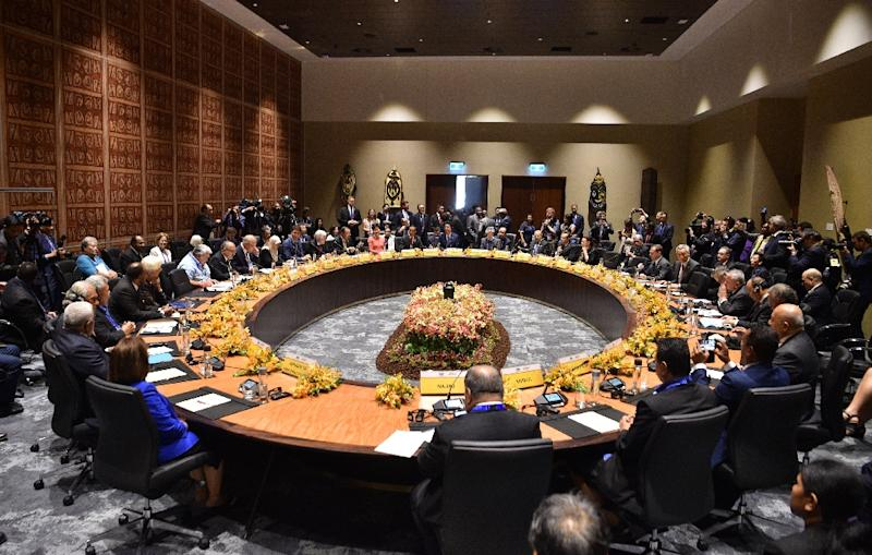 Tensions have been high at the APEC summit in Papua New Guinea after a spat between the United States and China
