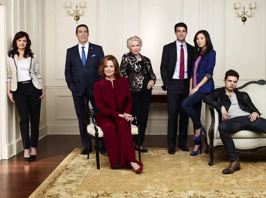 "<p class=""MsoNormal"">With an election year upon us, USA Network is debuting a new, limited-run series called ""Political Animals,"" which features a star-studded cast, including Sigourney Weaver, Ellen Burstyn, Carla Gugino, and Adrian Pasdar. The six-episode show -- premiering Sunday, July 15, at 10 PM -- is part political drama, part juicy soap opera, and centers around the Hammond family, who can't escape scandal. Meet the major players... </p>"