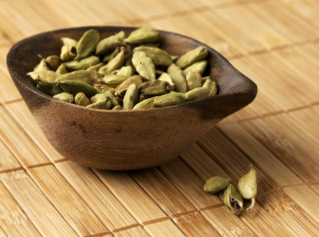 Cardamom (elaichi): The most aromatic of all Indian spices, our very own elaichi is consumed in two forms – green (choti elaichi) and black (badi elaichi) pods. Bad breath, indigestion, nausea; you name it, cardamom cures it. It is a great carminative (causing expulsion of gas), diuretic (causing urination), digestive, expectorant (helps bring up phlegm from lung etc) and stimulant. Besides providing health benefits, who can do without a hot elaichi chai?