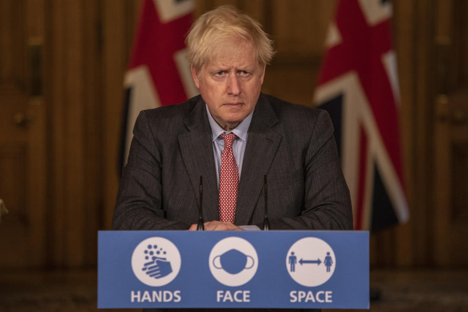 """Boris Johnson's """"whack-a-mole"""" strategy of local lockdowns has been widely criticised (Jack Hill - WPA Pool/Getty Images)"""