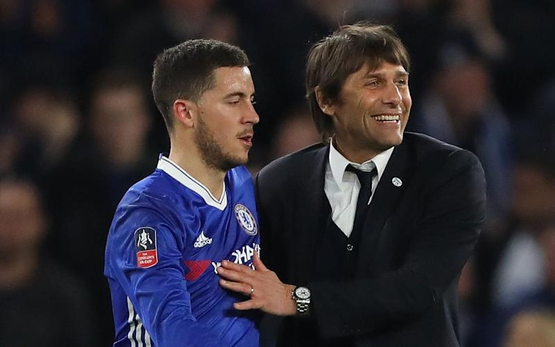 Antonio Conte does not want to lose Eden Hazard - Credit: rex