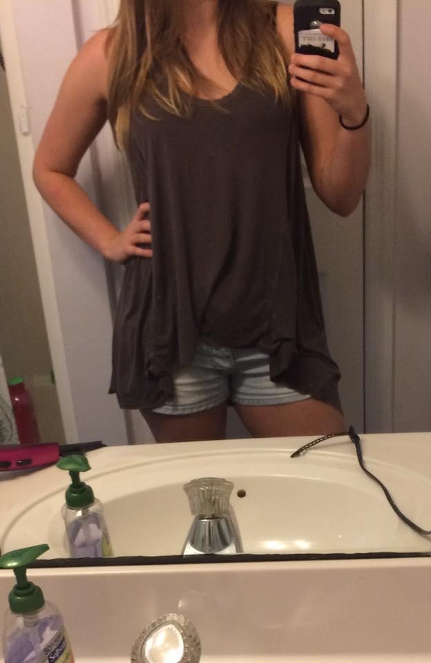 Taylor Beth Walker was criticized for her outfit by a stranger. (Photo:Taylor Beth Walker/Facebook)